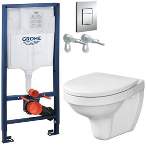 GROHE Rapid SL 38528SET WC CERSANIT ARTECO + SEDÁTKO 38772001 AT2