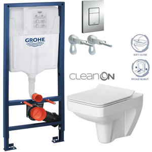 GROHE Rapid SL 38528SET WC CERSANIT SPLENDOUR + SEDÁTKO 38772001 SP1