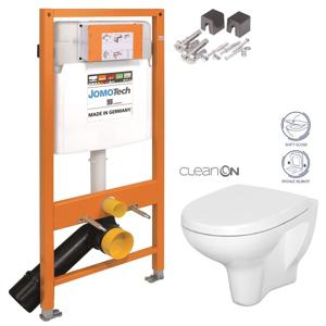 AKCE/SET/JOMO SET JOMO Duofix modul pro závěsné WC + montážní sada + sedátko + WC CERSANIT CLEANON ARTECO 174-91100700-00 AT1