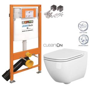 AKCE/SET/JOMO SET JOMO Duofix modul pro závěsné WC + montážní sada + sedátko + WC CERSANIT CLEANON CASPIA 174-91100700-00 CP1
