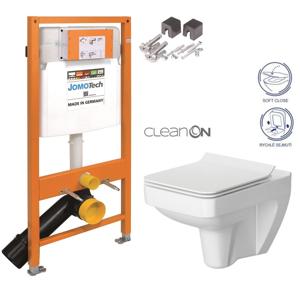 AKCE/SET/JOMO SET JOMO Duofix modul pro závěsné WC + montážní sada + sedátko + WC CERSANIT CLEANON SPLENDOUR 174-91100700-00 SP1