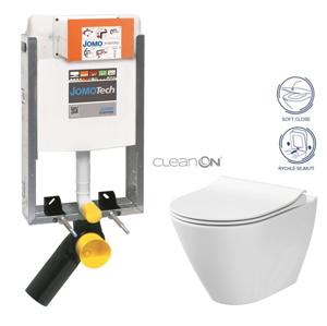AKCE/SET/JOMO SET JOMOTech Modul pro zazdění LIGHT + sedátko + WC CERSANIT CLEANON CITY 164-14600479-00 CI1