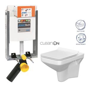 AKCE/SET/JOMO SET JOMOTech Modul pro zazdění LIGHT + sedátko + WC CERSANIT CLEANON COMO 164-14600479-00 CO1