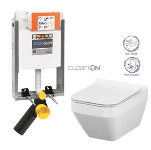 AKCE/SET/JOMO SET JOMOTech Modul pro zazdění LIGHT + sedátko + WC CERSANIT CLEANON CREA ČTVEREC 164-14600479-00 CR2