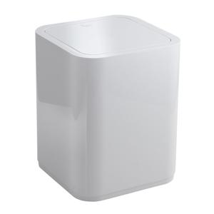 AQUALINE SEVENTY odpadkový koš výklopný, 8 l, plast ABS, bílá 630922