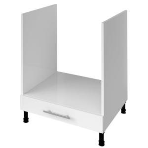 AQUALINE TERNO spodní skříňka pro vestavnou troubu 60x72x52 cm, bílá lesk AKB63