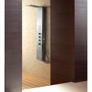 Aquatek Dubai Hydromasážní sprchový panel , baterie mechanická, způsob montáže na zeď Dubai-246