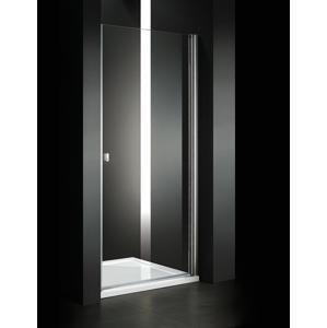 Aquatek Glass B1 75 sprchové dveře do niky jednokřídlé 71-75cm, barva rámu chrom, výplň sklo matné GLASSB175-177