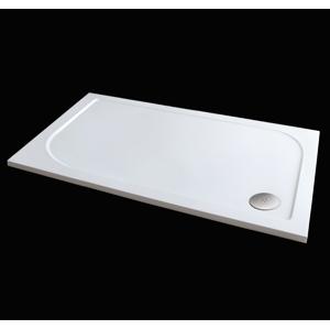 Aquatek Hard 120x90 sprchová vanička z litého mramoru , doplňky čelní krycí panel HARD12090-23