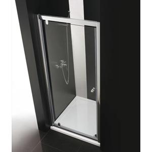 Aquatek Master B1 85 sprchové dveře do niky jednokřídlé 81-85cm, barva rámu chrom, výplň sklo matné B185-177