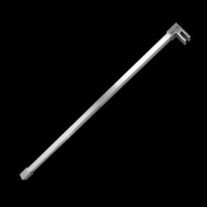 Aquatek OASIS T4 100cm rozpěrná tyčka rovná hranatá OASIST4100
