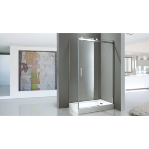 Aquatek TEKNO R23 Chrom Luxusní sprchová zástěna obdélníková 120x80cm, sklo 8mm, výška 210 cm TEKNOR23-11