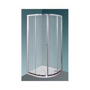 ARTTEC DIAMANT 80 clear NEW Sprchový kout čtvrtkruhový PAN01185