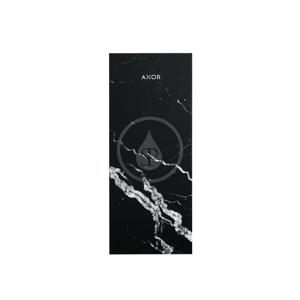 AXOR MyEdition Destička 200 mm, černý mramor 47913000