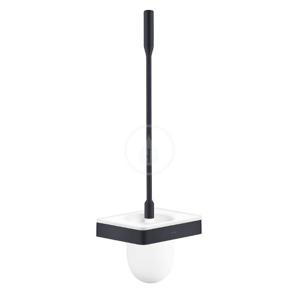 AXOR Universal WC štětka nástěnná s držákem, matná černá 42835350