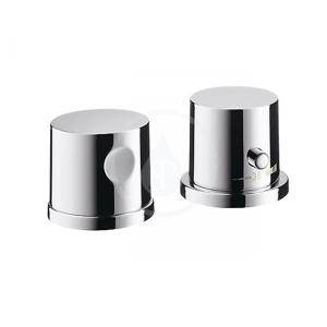 AXOR Uno Vrchní sada termostatické baterie na okraj vany, 2-otvorová instalace, chrom 38480000