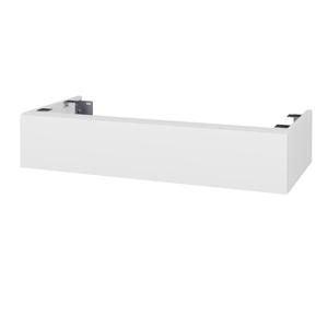 Dřevojas Doplňková skříňka pod desku DSD SZZ 100. bez výřezu (výška 20 cm) N01 Bílá lesk / D02 Bříza 229474