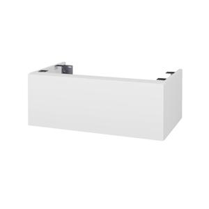 Dřevojas Doplňková skříňka pod desku DSD SZZ1 80. s výřezem (výška 30 cm) N01 Bílá lesk / D09 Arlington 229146