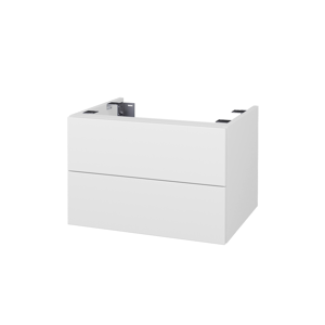 Dřevojas Doplňková skříňka pod desku DSD SZZ2 60. bez výřezu (výška 40 cm) D02 Bříza / D02 Bříza 226206