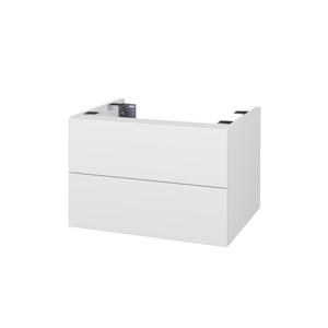 Dřevojas Doplňková skříňka pod desku DSD SZZ2 60. s výřezem (výška 40 cm) D04 Dub / D04 Dub 226619