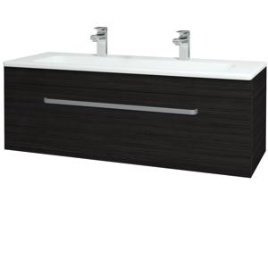 Dřevojas Koupelnová skříň ASTON SZZ 120 D14 Basalt / Úchytka T01 / D14 Basalt 146832AU