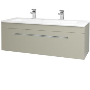 Dřevojas Koupelnová skříň ASTON SZZ 120 M05 Béžová mat / Úchytka T02 / M05 Béžová mat 200091BU