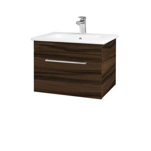 Dřevojas Koupelnová skříň ASTON SZZ 60 D06 Ořech / Úchytka T04 / D06 Ořech 131289E