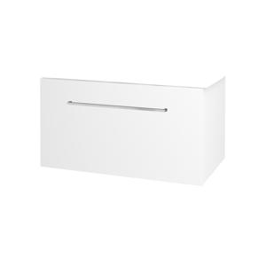 Dřevojas Koupelnová skříň BIG INN SZZ 80 N01 Bílá lesk / Úchytka T04 / M01 Bílá mat 201272E