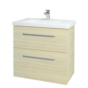 Dřevojas Koupelnová skříň BIG INN SZZ2 80 D04 Dub / Úchytka T01 / D04 Dub 133078A