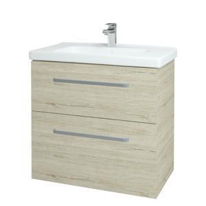 Dřevojas Koupelnová skříň BIG INN SZZ2 80 D05 Oregon / Úchytka T01 / D05 Oregon 133085A