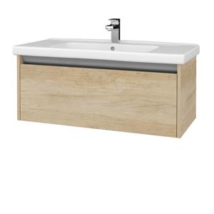 Dřevojas Koupelnová skříň BONO SZZ 100 (umyvadlo Harmonia) D15 Nebraska / D15 Nebraska 204174