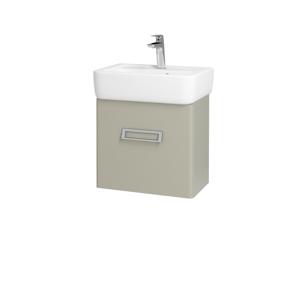 Dřevojas Koupelnová skříň DOOR SZD 45 M05 Béžová mat / M05 Béžová mat / Pravé 205058P