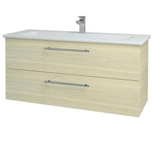 Dřevojas Koupelnová skříň GIO SZZ2 120 D04 Dub / Úchytka T02 / D04 Dub 130060B
