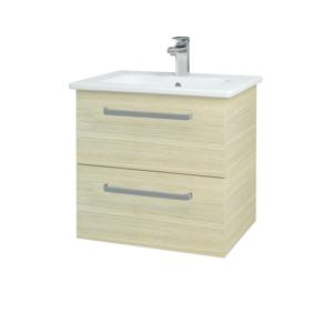 Dřevojas Koupelnová skříň GIO SZZ2 60 D04 Dub / Úchytka T01 / D04 Dub 82881A