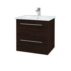 Dřevojas Koupelnová skříň GIO SZZ2 60 D08 Wenge / Úchytka T02 / D08 Wenge 82928B