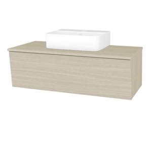 Dřevojas Koupelnová skříň INVENCE SZZ 100 (umyvadlo Joy 3) D04 Dub / D04 Dub 183219