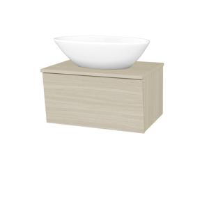 Dřevojas Koupelnová skříň INVENCE SZZ 65 (umyvadlo Triumph) D04 Dub / D04 Dub 178413