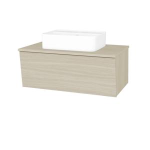 Dřevojas Koupelnová skříň INVENCE SZZ 80 (umyvadlo Joy 2) D04 Dub / D04 Dub 179946