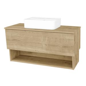 Dřevojas Koupelnová skříň INVENCE SZZO 100 (umyvadlo Joy 2) D09 Arlington / D09 Arlington 182380