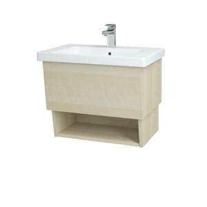 Dřevojas Koupelnová skříň INVENCE SZZO 65 (umyvadlo Harmonia) D02 Bříza / D02 Bříza 146986