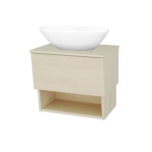Dřevojas Koupelnová skříň INVENCE SZZO 65 (umyvadlo Triumph) D02 Bříza / D02 Bříza 178109