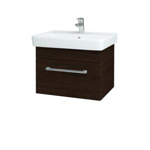 Dřevojas Koupelnová skříň Q UNO SZZ 60 D08 Wenge / Úchytka T03 / D08 Wenge 28391C
