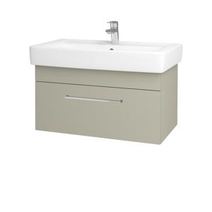 Dřevojas Koupelnová skříň Q UNO SZZ 80 L04 Béžová vysoký lesk / Úchytka T04 / L04 Béžová vysoký lesk 151782E