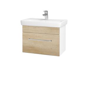 Dřevojas Koupelnová skříň SOLO SZZ 60 N01 Bílá lesk / Úchytka T04 / D15 Nebraska 205713E