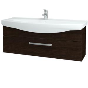 Dřevojas Koupelnová skříň TAKE IT SZZ 120 D08 Wenge / Úchytka T01 / D08 Wenge 134303A