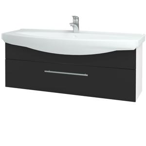 Dřevojas Koupelnová skříň TAKE IT SZZ 120 N01 Bílá lesk / Úchytka T02 / N03 Graphite 207366B