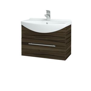 Dřevojas Koupelnová skříň TAKE IT SZZ 65 D06 Ořech / Úchytka T02 / D06 Ořech 133733B
