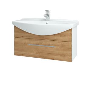 Dřevojas Koupelnová skříň TAKE IT SZZ 85 N01 Bílá lesk / Úchytka T02 / D09 Arlington 152628B