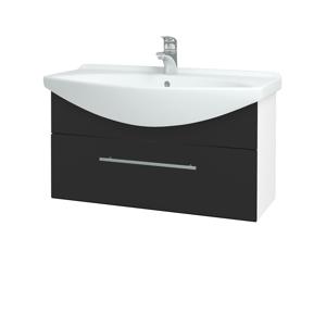 Dřevojas Koupelnová skříň TAKE IT SZZ 85 N01 Bílá lesk / Úchytka T02 / N03 Graphite 207045B