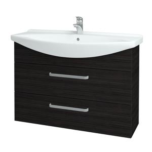 Dřevojas Koupelnová skříň TAKE IT SZZ2 105 D14 Basalt / Úchytka T01 / D14 Basalt 151409A